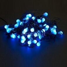 200 LED Kalėdinė girlianda burbuliukai, ilgis 17m., mėlyna šviesa