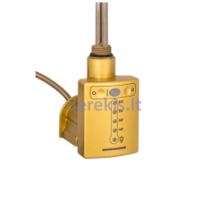 300 W kaitintuvas su termoreguliatoriumi Elonika QSX 300 (brass)