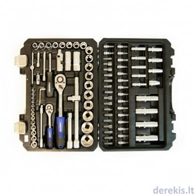 Įrankių rinkinys FORSAGE 94dalys ¼, 1,2 6br kodas 4941-5-F 4