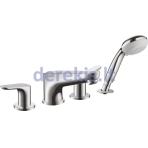 4 dalių vonios maišytuvas Hansgrohe Focus 31936000