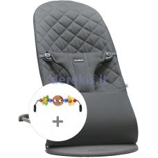 BABYBJÖRN Bundles Bouncer and Toy, Antrhracite 606021