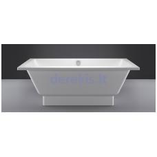 Akmens masės vonia Vispool Nordica 160X75 (su paslėptomis kojelėmis)