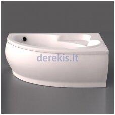 Akmens masės vonia Vispool Marea 170X110, 112010(kairė)