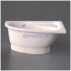 Akmens masės vonia Vispool Mia, 421010 140X90 (kairė)