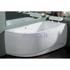 Akrilinė vonia B1680 dešininė 160cm empty