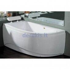 Akrilinė vonia B1680 kairinė 160cm empty