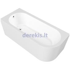 Akrilinė vonia Blu ANGOLO (vonios pusę galima pasirinkti)