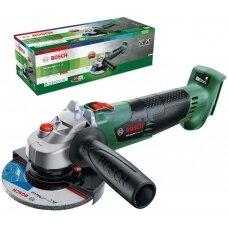 Akumuliatorinis kampinis šlifuoklis Bosch AdvancedGrind 18, 06033D9002 (be akumuliatoriaus ir kroviklio)