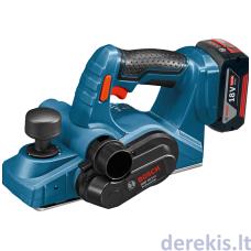 Akumuliatorinis oblius Bosch GHO 18 V-LI Professional, 06015A0303