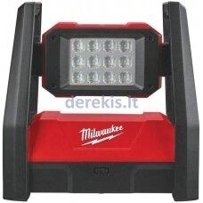 Akumuliatorinis prožektorius Milwaukee M18 HAL-0, 4933451262