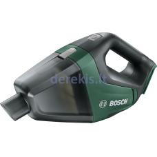 """Akumuliatorinis rankinis dulkių siurblys Bosch """"UniversalVac 18"""" 06033B9100 (Be akumuliatoriaus ir kroviklio)"""