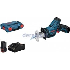 Akumuliatorinis universalusis pjūklas Bosch GSA 12V-14 Professional, 060164L976 2x3,0 Ah akum.