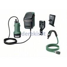 Bosch GardenPump 18, 06008C4201, 18V, 1x2,5Ah, 200L/h max., max.1,8m