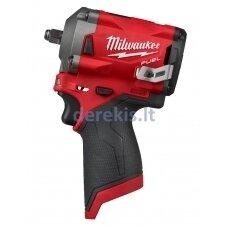 Akumuliatorinis veržliasukis Milwaukee M12 FIWF12-0 1/2'', 4933464615