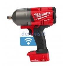 Akumuliatorinis veržliasukis Milwaukee M18 ONEFHIWF12-0X, 4933459726 (be akumuliatoriaus, pakrovėjo ir lagamino)