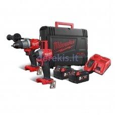 Akumuliatorinių įrankių komplektas Milwaukee M18 FPP2A2-502X, 4933464268