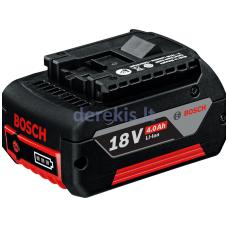 Akumuliatorius Bosch GBA 18V 4.0Ah Professional 1600Z00038