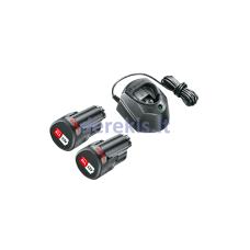 Akumuliatorius ir įkroviklis Bosch Starter Set 12 V (2 x 1,5 Ah, GAL 1210 CV), 1600A01L3E