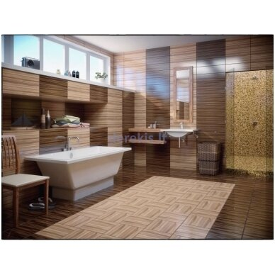 Akmens masės vonia Vispool Nordica 160X75 (su paslėptomis kojelėmis) 2