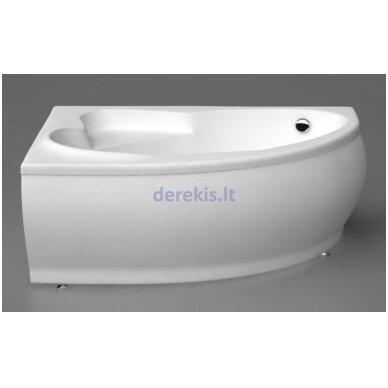 Akmens masės vonia Vispool Marea 170X110, 111010(dešinė)