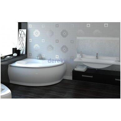 Akmens masės vonia Vispool Marea 170X110, 112010(kairė) 4