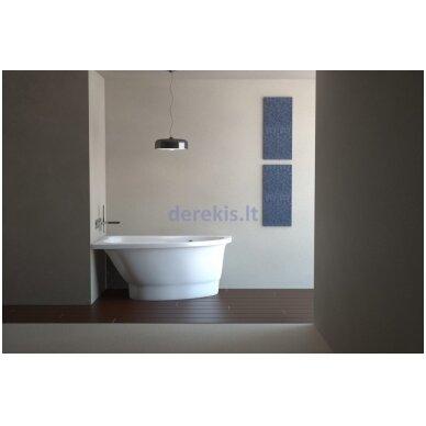 Akmens masės vonia Vispool Mia, 411010 140X90 (dešinė) 2