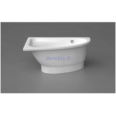 Akmens masės vonia Vispool Mia, 411010 140X90 (dešinė)