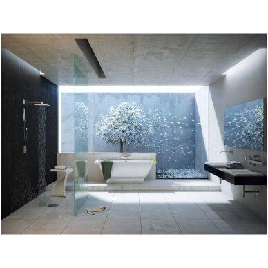 Akmens masės vonia Vispool Nordica 170X75, N01013 (su paslėptomis kojelėmis) 3