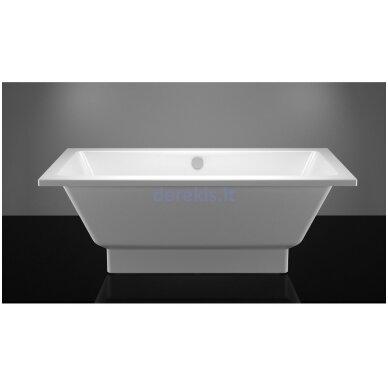 Akmens masės vonia Vispool Nordica 170X75, N01013 (su paslėptomis kojelėmis)