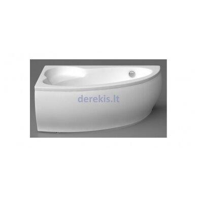 Akmens masės vonia VISPOOL PICCOLA 154X100, 101010 (dešininė)