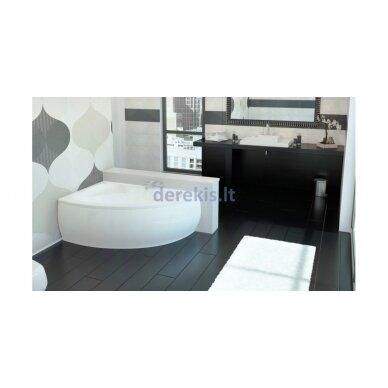 Akmens masės vonia VISPOOL PICCOLA 154X100, 101010 (dešininė) 2