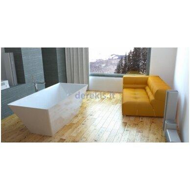 Akmens masės vonia Vispool QUADRO 175X80, 3001109 3