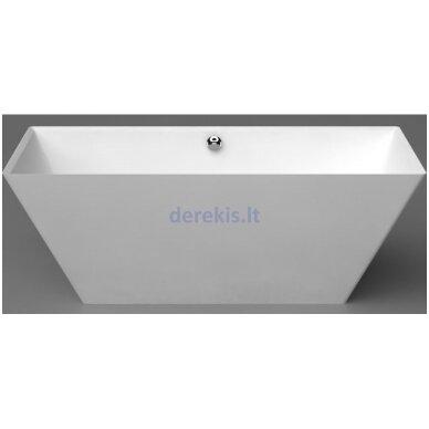 Akmens masės vonia Vispool QUADRO 175X80, 3001109