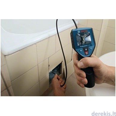 Akumuliatorinė patikros kamera Bosch GIC 120, 0601241100 5