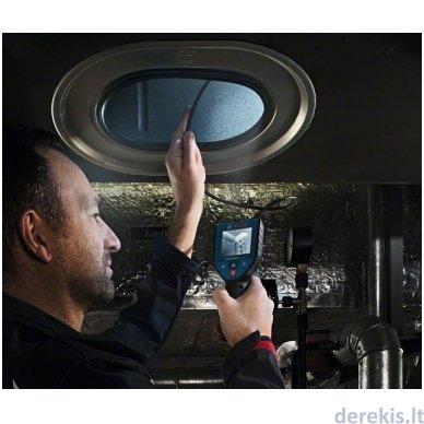 Akumuliatorinė patikros kamera Bosch GIC 120, 0601241100 3