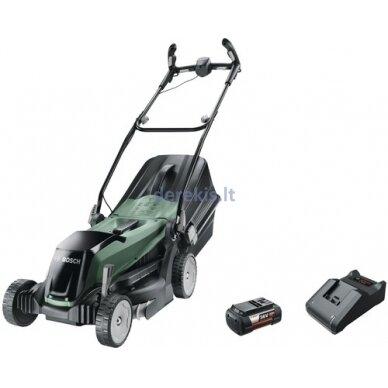 Akumuliatorinė vejapjovė Bosch EasyRotak 36-550, 06008B9B00 (36V, 4.0Ah) 2