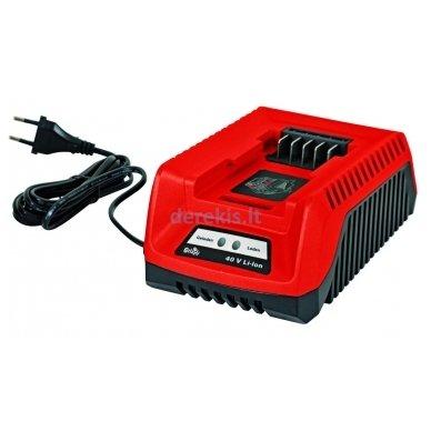 Akumuliatorinė žoliapjovė 40V Grizzly AS 4026 Lion Set, 72035303 (yra 2,5 Ah baterija ir pakrovėjas) 6