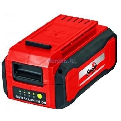 Akumuliatorinė žoliapjovė 40V Grizzly AS 4026 Lion Set, 72035303 (yra 2,5 Ah baterija ir pakrovėjas) 7