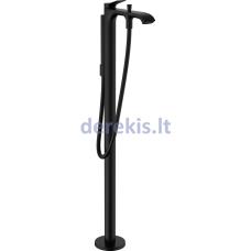 Ant grindų montuojamas vonios maišytuvas Hansgrohe Vivenis 75445670, juodas matinis