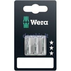 Antgaliai Wera standart, Hex-Plus 4.0 x 25mm, 5.0 x 25mm. 6.0 x 25mm, 840/1 Z, blister