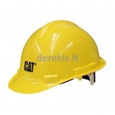 Apsauginis šalmas CAT 019671, 72874068127 geltonas