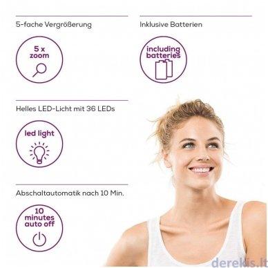 Apšviečiamas kosmetinis veidrodis BEURER BS89 5