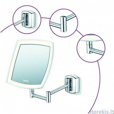 Apšviečiamas kosmetinis veidrodis BEURER BS89 6
