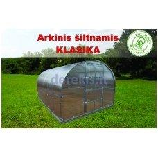Arkinis šiltnamis Klasika 6 m2 4 mm danga + DOVANA Augalų parišimo komplektas