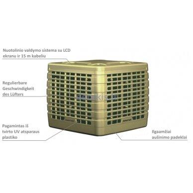 Ašinis ventiliatorus Master BCF 230AL 2