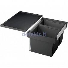 Atliekų rūšiavimo sistema 60 cm spintelei BLANCO FLEXON II 60/2, 521471