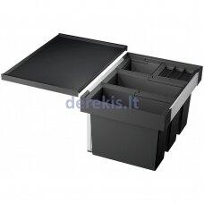 Atliekų rūšiavimo sistema 60 cm spintelei BLANCO FLEXON II 60/4, 521474