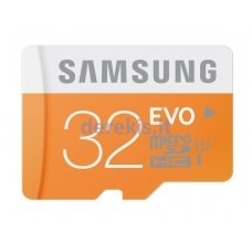Atminties kortelė Samsung MicroSD EVO 32 GB, MB-MP32D/EU