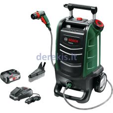 Aukšto slėgio plovykla Bosch Fontus 06008B6000 (1 akumuliatorius)