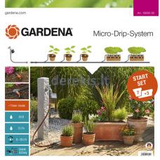 Automatinis pradinis rinkinys gėlių vazonams Gardena M 13002-20, 967039501